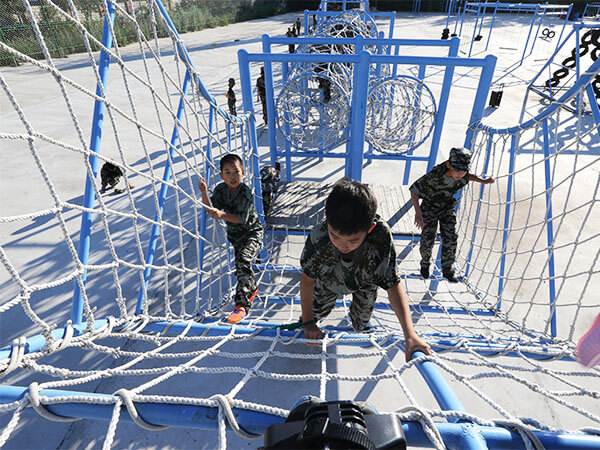Obstacle Course, playground, ropes course