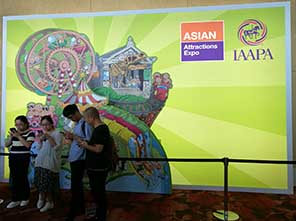Asian Attractions Expo Opened in Singapore, high ropes course, jp development