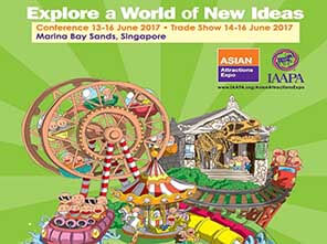Asian Attractions Expo 2017, JP Development, obstacle course, high ropes course, climbing wall