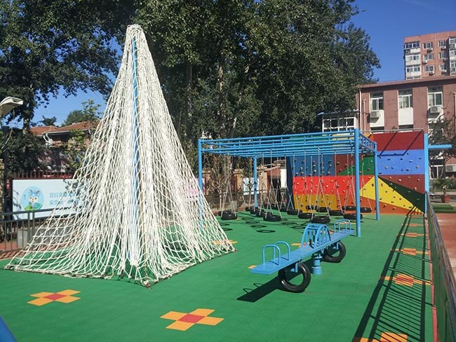 playground equipment, climbing wall, bouldering wall