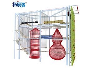 adventure ropes course, amusement park,climbing wall