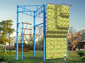 climbing wall, ropes course,high aerial project
