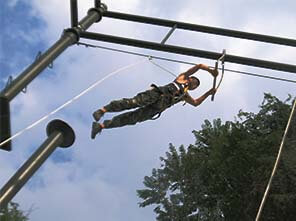 leap of faith, high ropes adventure, ropes course builder
