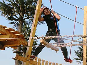team building base, outward bound training base, adventure park