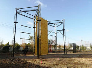 military training equipment, outward bound equipment, team building playground