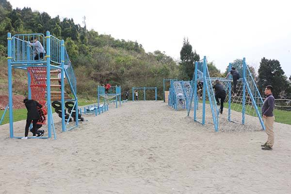 team building equipment, obstacle course equipment, playground equipment