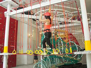 obstacle course, indoor obstacle course, JP Climb Climbing Wall