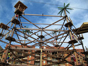 Advantages of Steel Structured Ropes Course