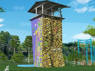 adventure tower, climbing wall, climbing tower, challenge tower