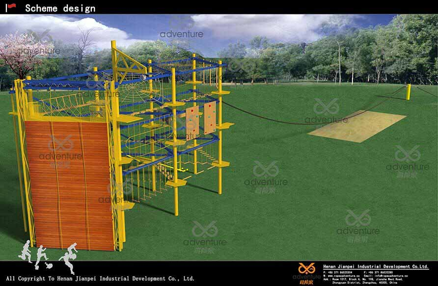 Outdoor Ropes Course Equipment Based in Jordan
