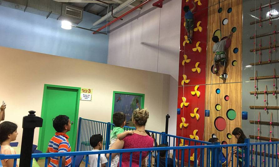 Australia-Indoor Climbing Wall Project
