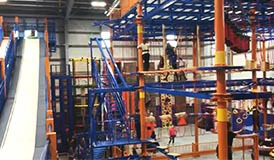 [!--Ropes Course,Playground Equipment, Adventure Playground, High Ropes, Family Entertainment Center--]