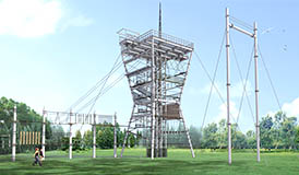 [!--Challenge Tower, adventure tower, high ropes--]