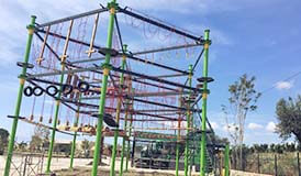 [!--adventure park, high ropes, ropes adventure, build ropes course--]