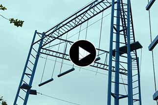 Outward Bound Courses Center in Jiangsu, High Ropes Obstacle Course, Team Building Equipment