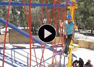 Israel Outdoor Ropes Course, outdoor adventure park, zipline, challenge course