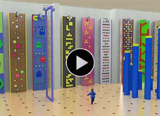 Indoor Climbing Wall, kids climbing gym, children's climbing wall